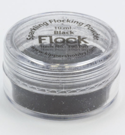 Sparkling powder zwart