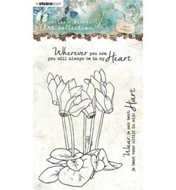 Stempel bloemen nr6
