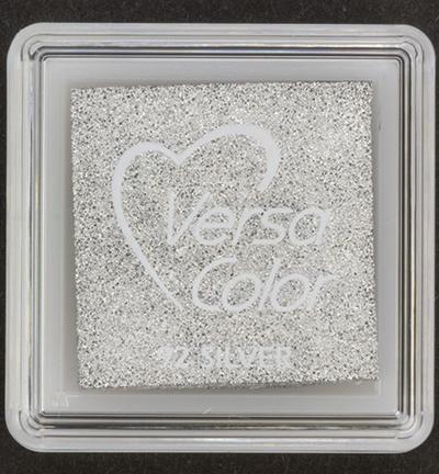 Inktpad zilver