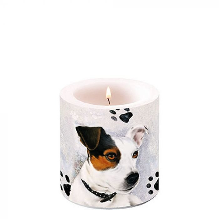 Candle Small Jack Russel