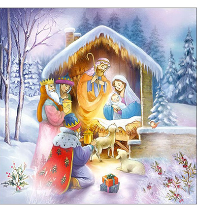 Kerst stalletje