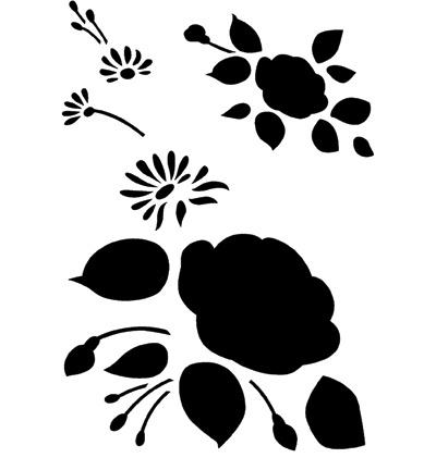 Sjabloon rozen