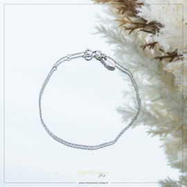 Imotionals Armband 20cm Zilver