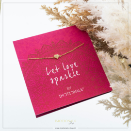 Imotionals Armband Crystal Hart Symbool Op Giftcard