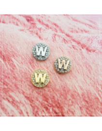 Imotionals Crystal Letter W