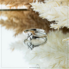 Imotionals One Size Ring Good Luck Zilver