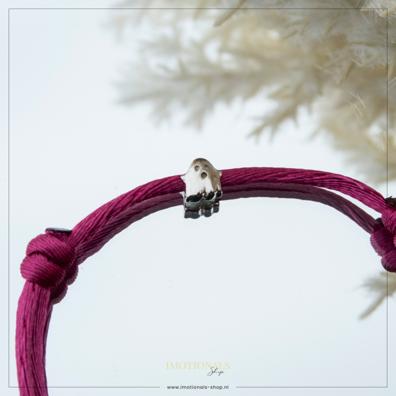 Imotionals Silk Cords Symbool Spookje Zilver
