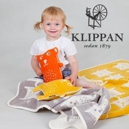 Klippan Knuffel Little Bear oranje  per set van 2