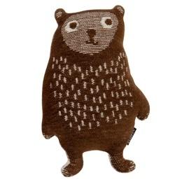 Klippan Knuffel Little Bear bruin  per set van 2
