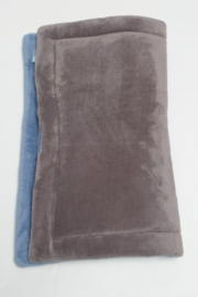 Boxkleed dubbel teddy jeans-antraciet