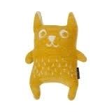Klippan Knuffel Little Bear geel  per set van 2