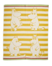 Moomin- wiegdeken brushed cotton