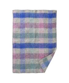 Gotland baby- wiegdeken wol pastel