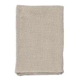 Klippan plaid organic cotton Basket