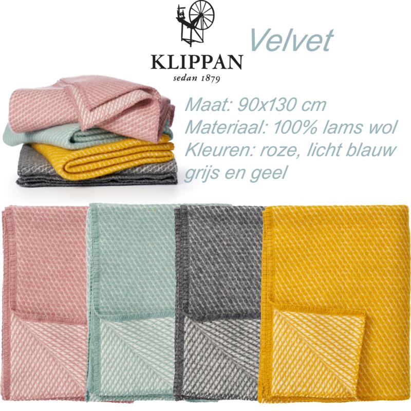 Velvet - ledikantdeken wol