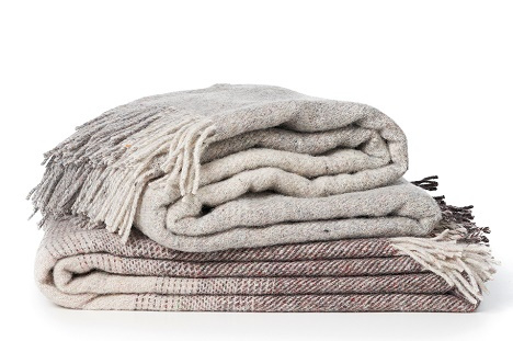 Burst - recycled wool