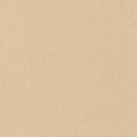 BEIGE/GOUD LINNENLOOK BEHANG - Caselio Linen 68521520