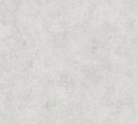 WIT GRIJS GEMELEERD BEHANG - AS Creation History of Art 37654-2