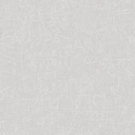 GEKRASTE WOORDEN BEHANG - Casadeco Oxyde 29131107