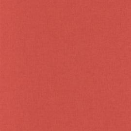 ROOD LINNENLOOK BEHANG - Caselio Linen 68528000