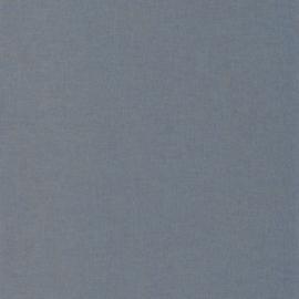 BLAUW/GOUD LINNENLOOK BEHANG - Caselio Linen 68526236