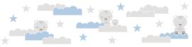 BEREN IN DE WOLKEN BEHANGRAND - AS Creation Lovely Kids 403723