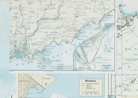 LANDKAART BEHANG - Riviera Maison 18270