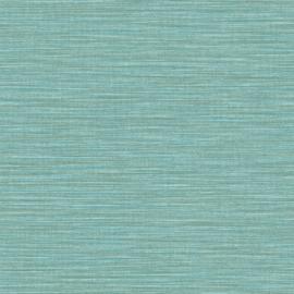 TURQUOISE RAFFIA STREEP BEHANG - Caselio WARA 69586510
