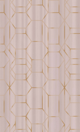 ROZE GRAFISCH BEHANG - BN Wallcoverings Dimensions 219601