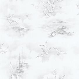 MEEUWEN EN BOTEN BEHANG - Noordwand Global Fusion G56424