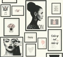 FASHION GIRLS BEHANG - AS Creation Metropolitan Stories 369181