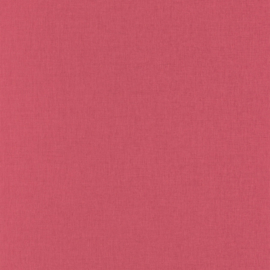 FUCHSIA LINNENLOOK BEHANG - Caselio Linen 68524340