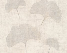 GINGKO BLAD BEHANG - AS Creation Borneo 322653