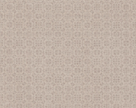 BEIGE MODERN LINNENLOOK BEHANG - AS Creation Hygge 363833