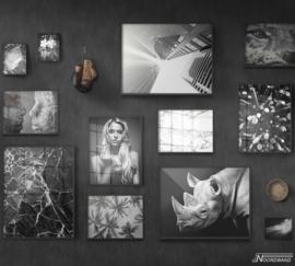 Fotobehang BLACK OUT (M) - Vanilla Lime Wallpaper Mural 014100