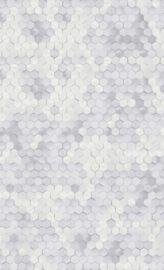 GRIJS HEXAGON BEHANG - BN Wallcoverings Dimensions 219580