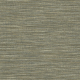 GROEN GRIJS RAFFIA STREEP BEHANG - Caselio WARA 69587505