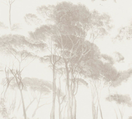 TAUPE PIJNBOMEN BEHANG - AS Creation History of Art 37651-4