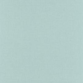 LICHT TURQUOISE LINNENLOOK BEHANG - Caselio Linen 68526899