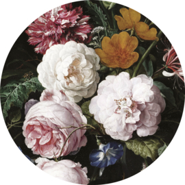 "Behangcirkel Golden Age Flowers ""Jan Davidsz de Heem (1650-1683)"" - KEK Amsterdam Wonderwalls CK-012"