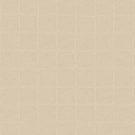BEIGE GEEL GESTIKT LEDERLOOK BEHANG - ARTE Atelier ALMA 21020