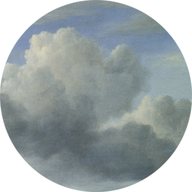 "Behangcirkel Golden Age Clouds ""kunstenaar onbekend"" - KEK Amsterdam Wonderwalls CK-008"
