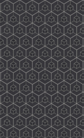 GLITTER HEXAGON BEHANG - BN Wallcoverings Dimensions 219561