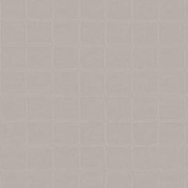 GRIJS GESTIKT LEDERLOOK BEHANG - ARTE  Atelier ALMA 21016