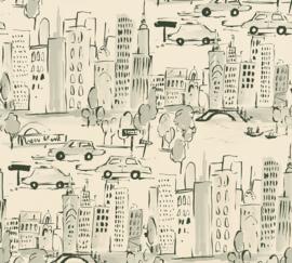 NEW-YORK GETEKEND BEHANG - AS Creation Boys & Girls 6 36753-2