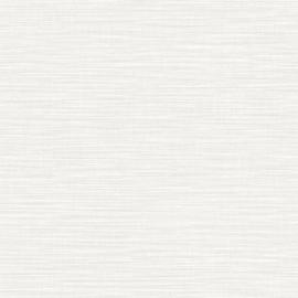 LICHT GRIJS RAFFIA STREEP BEHANG - Caselio WARA 69589000