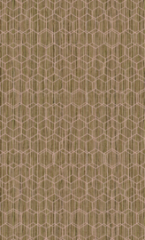 GEMELEERDE HEXAGON BEHANG - BN Wallcoverings Dimensions 219624