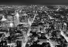 FROM THE EMPIRE STATE BUILDING FOTOBEHANG - Wizard & Genius idealdecor 117 ✿✿✿