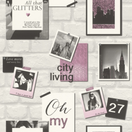 CITY LIVING BEHANG - Rasch Kids & Teens 3 212709