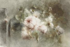 VASE WITH ROSES 8030 FOTOBEHANG - Dutch Painted Memories